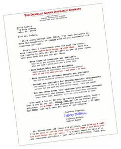 Insurance Marketing Letter Template Free Insurance Marketing Letters Free Insurance Quotes