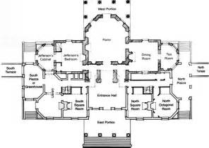 tea tree plaza floor plan rooms and furnishings thomas jefferson s monticello