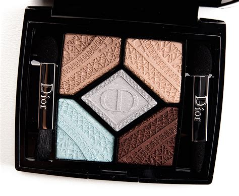 light blue eyeshadow palette dior parisian sky 506 skyline eyeshadow palette review