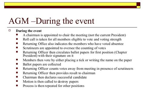 treasurer s report agm template meeting procedures
