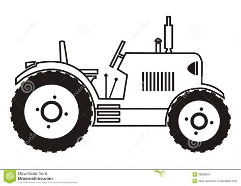 tractor tire coloring page tractor coloring stock images image 38058004