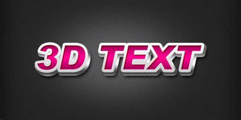 design font psd free 3d text font design layered psd titanui
