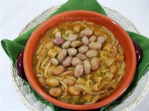 cucinare fagioli borlotti pasta e fagioli borlotti freschi ricetta petitchef