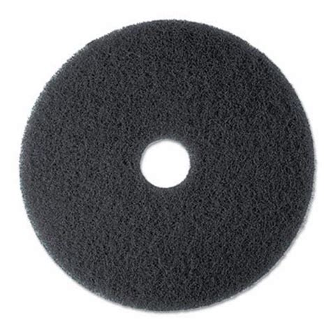 mmm floor pads 3m high productivity black floor pad 7300 17 quot 5 pads