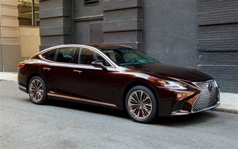 lexus ls 2018 lexus ls 500h and ls 500 f sport more is less the