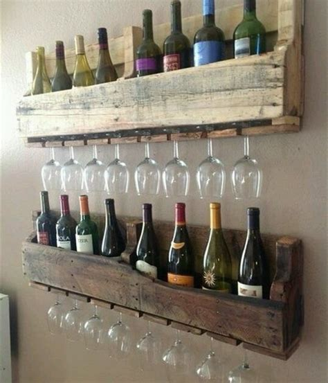 Wood Pallet Wine Rack by Pallet Ideas Shows Your Aesthetic Sense Wooden
