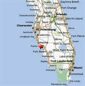 sarasota florida map