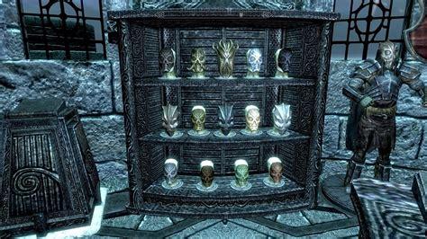skyrim all items room skyrim trophy rooms mods in description