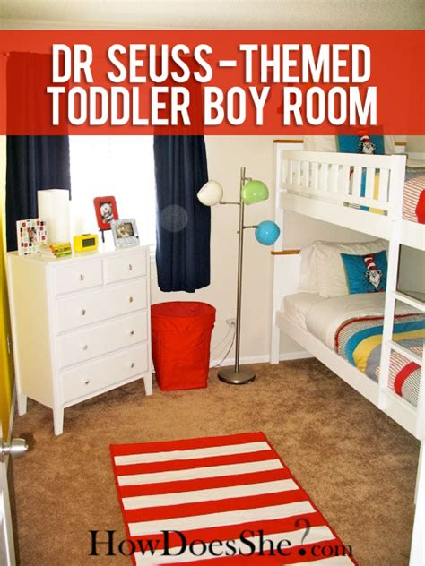 dr seuss themed bedroom toddler boy room