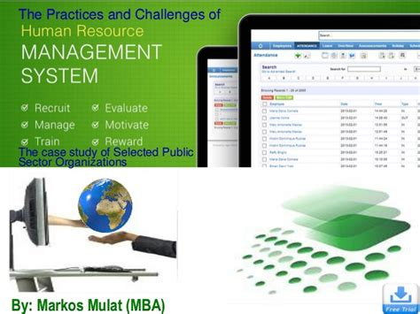 Information On Mba In Human Resources by Human Resource Information System Hris Mba Defence