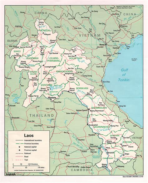 map of laos map of laos laos