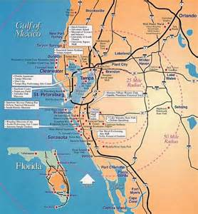 map gulf coast florida secret places location map of florida s gulf coast