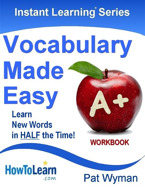 Learning Series instant learning series vocabulary workbook how to