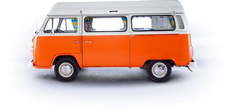 orange volkswagen van mr orange o connors vw cervan hire