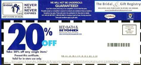Bed Bath And Beyond Coupon On Phone by Printable Bed Bath Beyond Printable Coupons