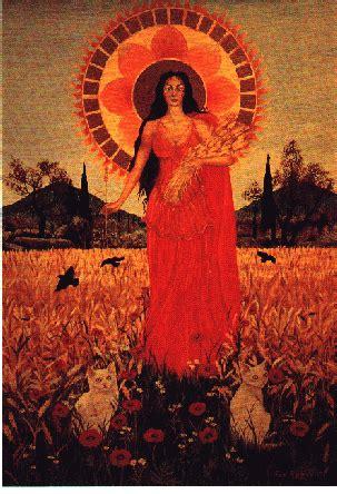 harvest of demeter goddess symbol wesclinmythology demeter
