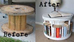 Pallet Bookshelf Diy 15 Fab Art Diy Wood Wire Spool Furniture Ideas And