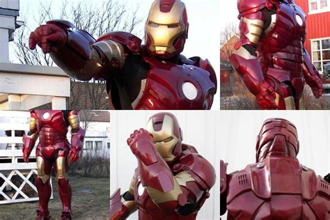 How To Make A Paper Iron Suit - iron suit can probably kick real tony s