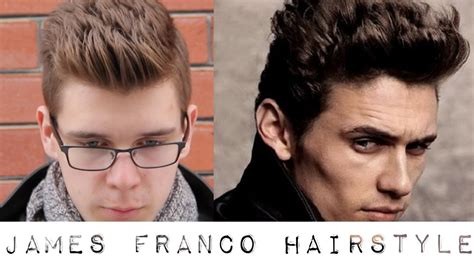 Franco Hairstyle franco inspired hairstyle