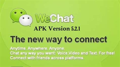 apk for wechat free wechat apk 5 2 1 for android and tablet