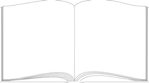 book white outline clip art  clkercom vector clip art