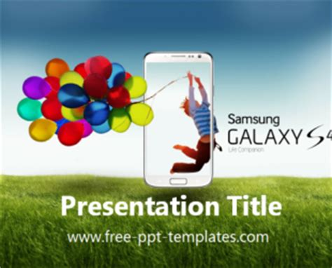 samsung presentation template galaxy s4 ppt template free powerpoint templates