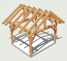 Instant Up Screen House With Awnings 12x14 Timber Frame Plan Timber Frame Hq