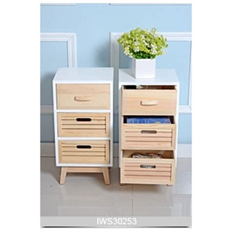 pine wood color storage cabinet for bedroom and