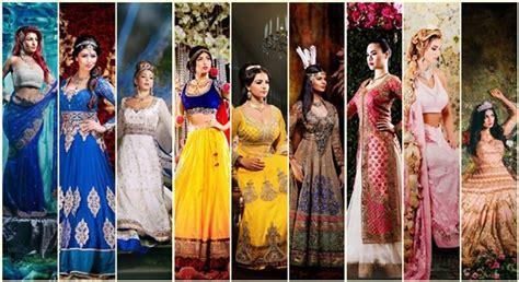 Disney Princesses into Indian Brides