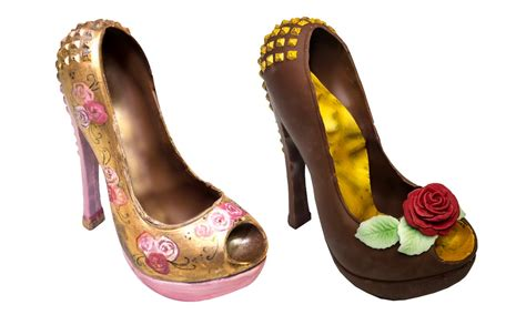 Handcrafted Shoes - handcrafted chocolate shoes and handbags