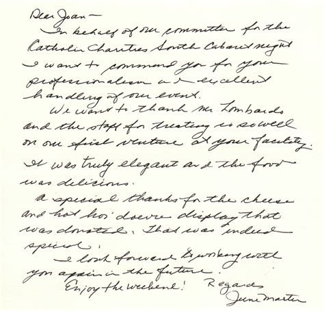 Letter For Hosting An Event Lombardo S Corporate Event Testimonials Boston S Premier Location Lombardo S Is Boston S