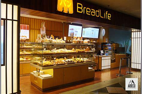 layout toko roti bread life daan mogot mal