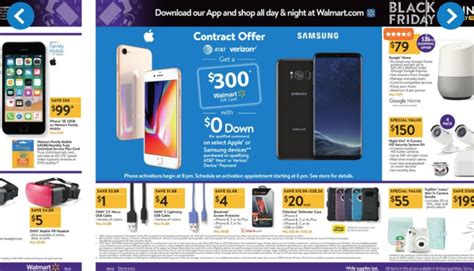 Gift Card Black Friday 2017 - walmart cooks up iphone x and note 8 black friday deals pocketnow