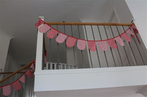 scallop bunting christmas decoration