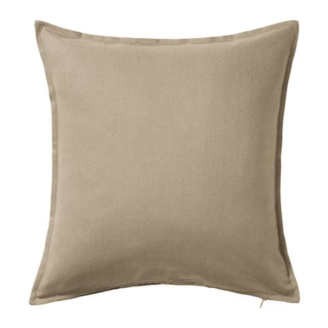 pillows ikea gurli cushion cover beige 50x50 cm ikea