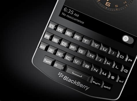 Lcd Bb 9983 Porsche Design P9983 porsche design blackberry p 9983 smartphone reflects