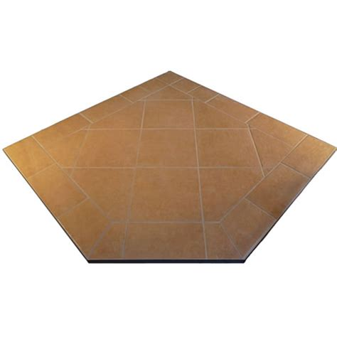 fireplace hearth pads corner hearth pads w standard edge desert sands