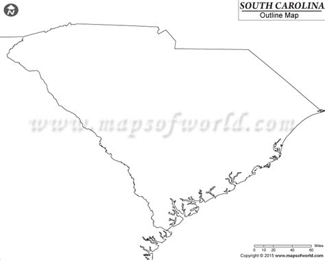 blank map south carolina buy blank map of south carolina
