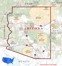 arizona printable state maps pictures to pin on