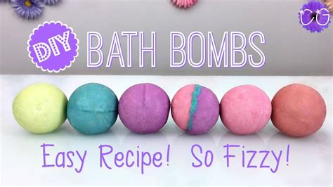How To Make Shower Fizzies by Diy Fizzy Bath Bombs Easy Recipe Doovi