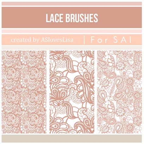 lace pattern ai free illustrator lace brush