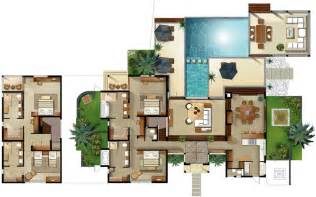 villa plans disney club villas floor plan resort villa floor