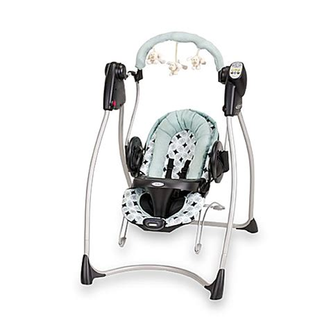 baby swing and bouncer graco 174 swing n bounce 2 in 1 infant swing and bouncer