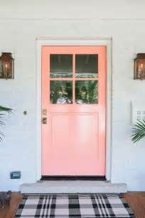 Pink Front Door Front Entry Doors That Make A Strong Impression