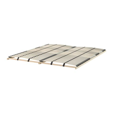 L 214 Nset Slatted Bed Base Queen Ikea