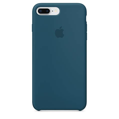 iphone     silicone case cosmos blue apple