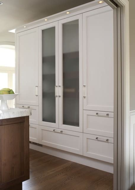 Frosted Glass Kitchen Cabinet Doors by Frosted Glass Cabinet Doors Contemporary Kitchen