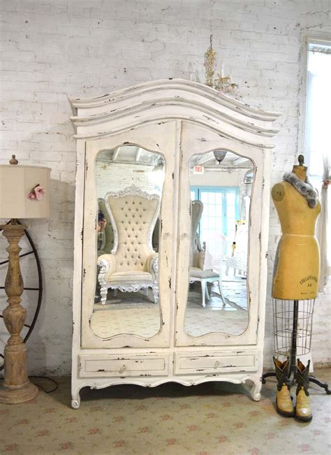 cottage armoire shabby chic armoires