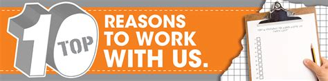 10 Reasons To Work by Cta Manufacturing Inc Top Ten Reasons To Work With Us