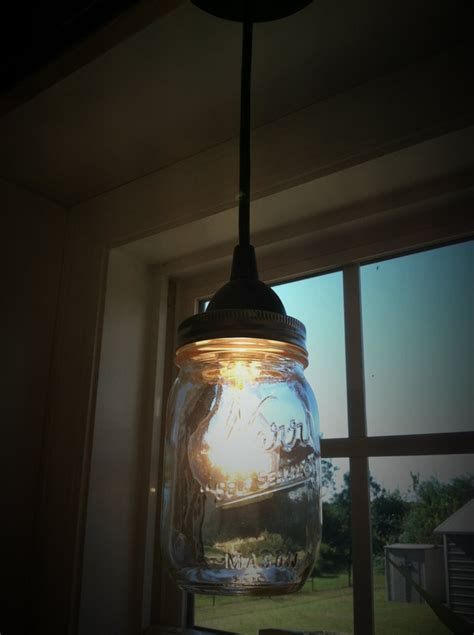 mason jar pendent light for over the sink kitchen ideas